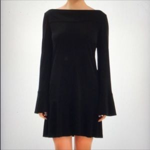 Diane Von Furstenberg black reema mini dress 6
